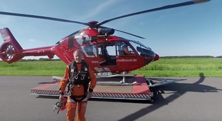 Siemens Hubschraubergast